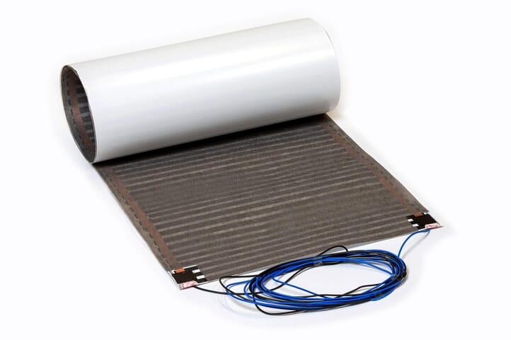 SFX® Fußbodenheizung elektrisch 80Watt/m² Matte 1,25m² - 2,75m² Flachheizung Folienheizung