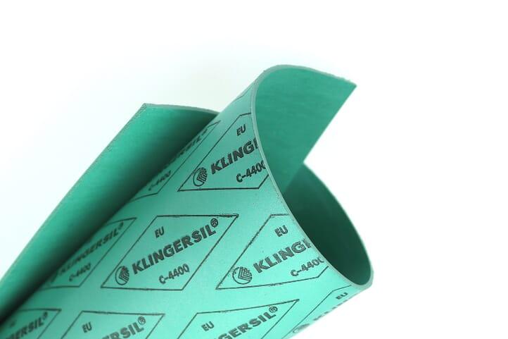 Dichtungsplatte Klingersil C-4400 Dichtungspapier 350x250mm Flachdichtung 0,5 bis 3mm dick