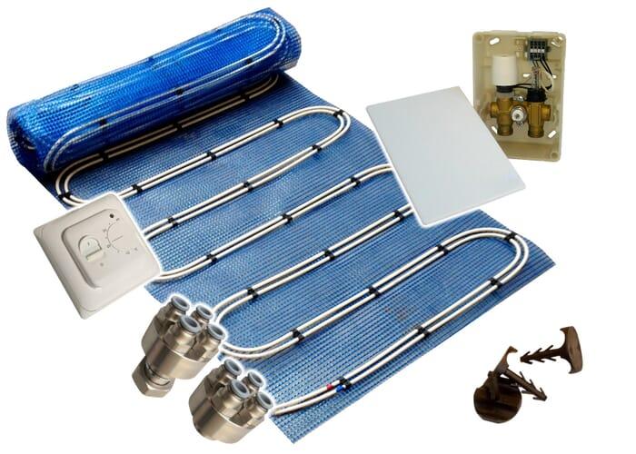SFX® Fußbodenheizung Duo Warmwasser E-Regelbox Standard Heizmatte 2,5-20m²