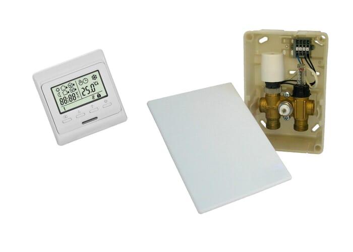 SFX® Fußbodenheizung Regler RTL-Ventil AP Regelbox Multibox UP für Warmwasser
